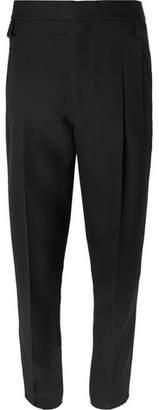 Haider Ackermann Pleated Wool Trousers