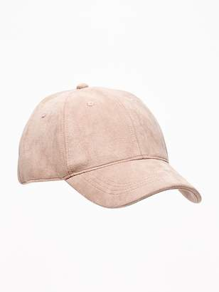 Old Navy Sueded Baseball Cap for Men