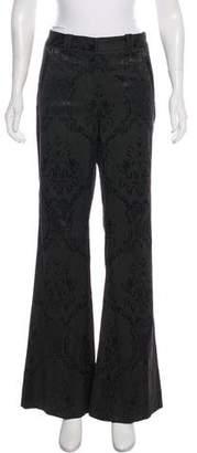 Robert Rodriguez Mid-Rise Wide-Leg Pants