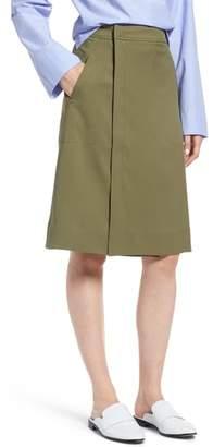J.Crew Kiki Faux Wrap Skirt