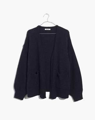 Madewell Balloon-Sleeve Cardigan Sweater