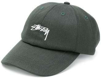 Stussy embroidered logo baseball cap