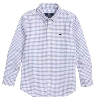 Vineyard Vines Bell Haven Plaid Oxford Shirt