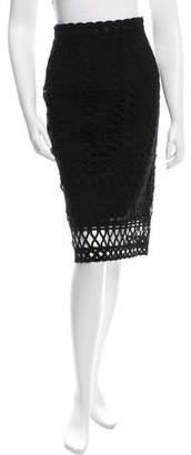 Jonathan Simkhai Embroidered Pencil Skirt w/ Tags