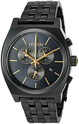 Nixon Men's 'Time Teller Chrono' Quartz Stainless Steel Casual Watch