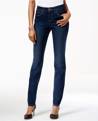 Style & Co Curvy-Fit Skinny Jeans, Created for Macy's $49 thestylecure.com
