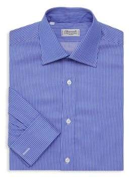 Charvet Classic Fit Pique Stripe Dress Shirt