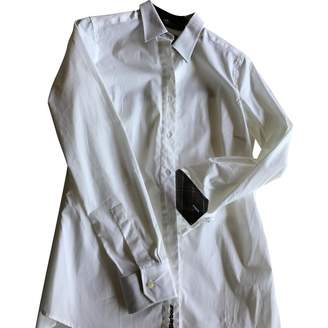 Barbour White Cotton Top for Women