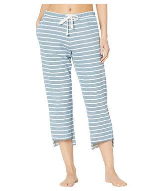 Chaser Striped French Terry High-Low Drawstring Jogger