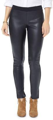 7df0f952ac0d4f Leather Front Leggings - ShopStyle