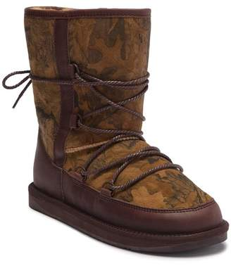 Australia Luxe Collective Norse Forest Print Genuine Shearling Fur Lined Boot