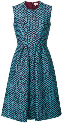 DELPOZO textured print sundress