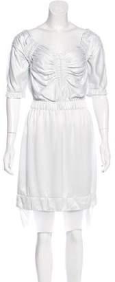 Marc Jacobs Off-the-Shoulder Sheath Dress