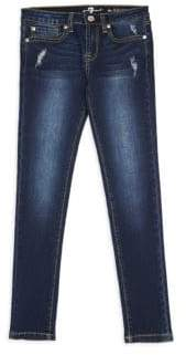 7 For All Mankind Little Boy's& Boy's Slimmy Five-Pocket Jeans