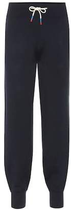 Tory Sport Cashmere-blend trackpants