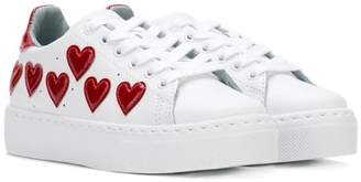 Chiara Ferragni Kids heart sneakers