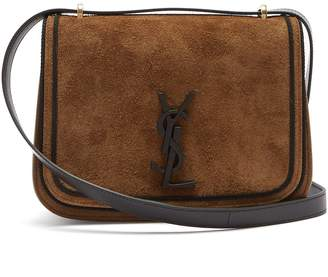 Saint Laurent Spontini suede satchel cross-body bag
