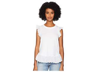 Kate Spade Pom Pom Trim Tee Women's T Shirt