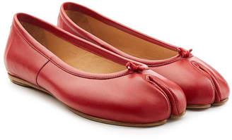 Maison Margiela Leather Split Toe Ballerinas