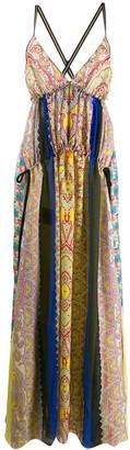 Etro patchwork dress