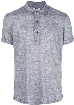 Orlebar Brown melange polo shirt