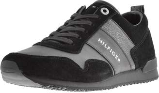 Tommy Hilfiger Iconic Runner Trainers Black