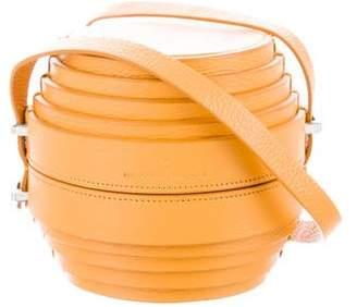 Mercedes Benz Castillo Pom Crossbody Bag