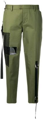 DSQUARED2 cropped technical chinos