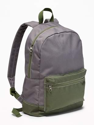 Old Navy Color-Blocked Canvas Backpack for Boys