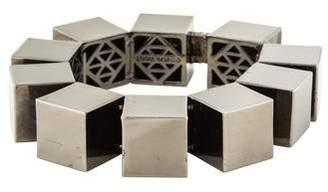 Eddie Borgo Smooth Cube Bracelet