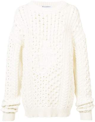 ecb4156638 J.W.Anderson oversized chunky knit sweater