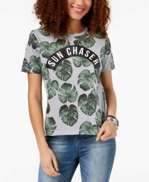 Mighty Fine Juniors' Sun Chaser Graphic-Print T-Shirt