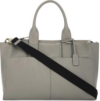 Bea Yuk Mui Jem + Jemima leather changing bag