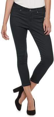 JLO by Jennifer Lopez Women's Super Skinny Midrise Crop Jeans