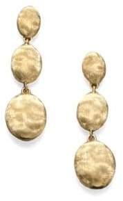 Marco Bicego Siviglia 18K Yellow Gold Triple-Drop Earrings