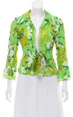 Dolce & Gabbana Printed Tie Blazer