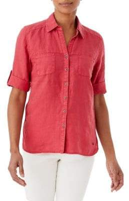Olsen Linen Safari Shirt