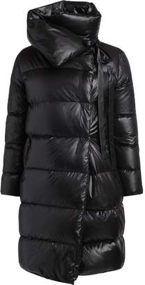 Puffa Bacon Clothing Bacon Big Black Long Down Jacket