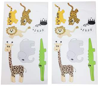 One Grace Place 10-14b045 Jazzie Jungle Boy-Wall Decals