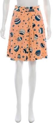 See by Chloe Printed Knee-Length Skirt