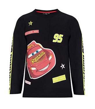 Disney Boy's 1694 T-Shirt, Black Noir