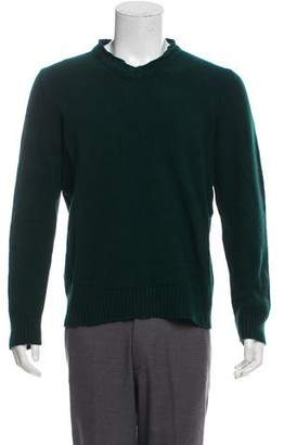 Marni Wool V-Neck Sweater