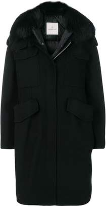 at Farfetch Moncler Phillirea coat