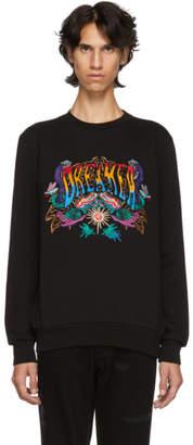 Paul Smith Black Embroidered Dreamer Sweatshirt