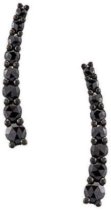 Black Diamond Alinka Dasha small slider earrings
