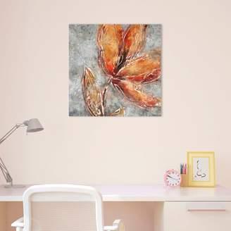 ... Amanti Art Ashanti II Floral Canvas Wall Art & Floral Canvas Wall Art - ShopStyle
