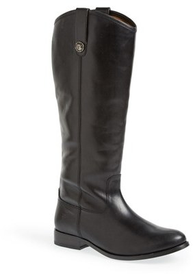 Women's Frye 'Melissa Button' Leather Riding Boot $367.95 thestylecure.com