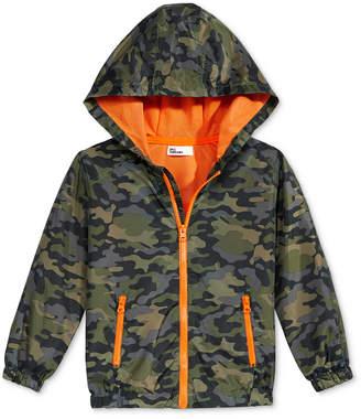 Epic Threads Camo-Print Rain Coat, Little Boys, Created for Macy's