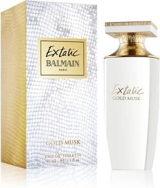 Balmain Extatic Gold Musk By Edt Spray 3 Oz