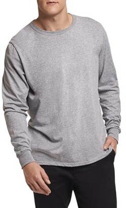 e7ccfdae Russell Athletic Big Men's Essential Dri-Power Long Sleeve T-Shirt with 30+